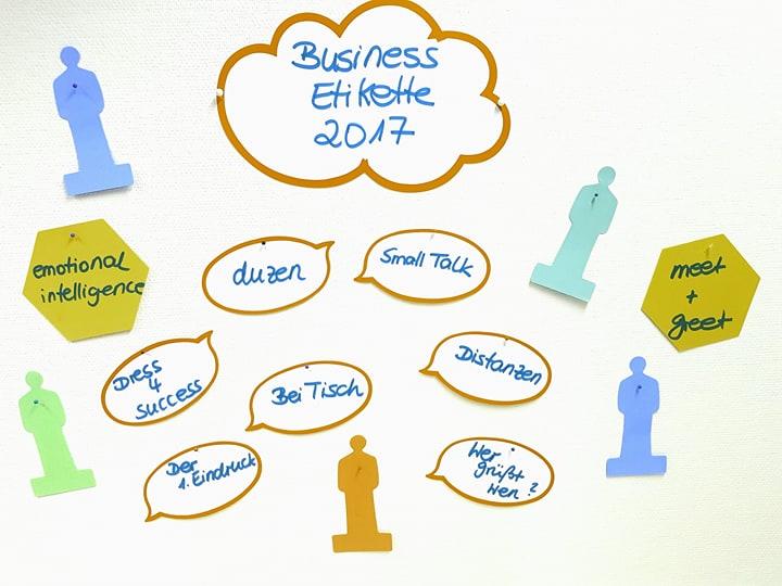 Business-Etikette: Mehr als ein Trend für gute Benimm-Regeln